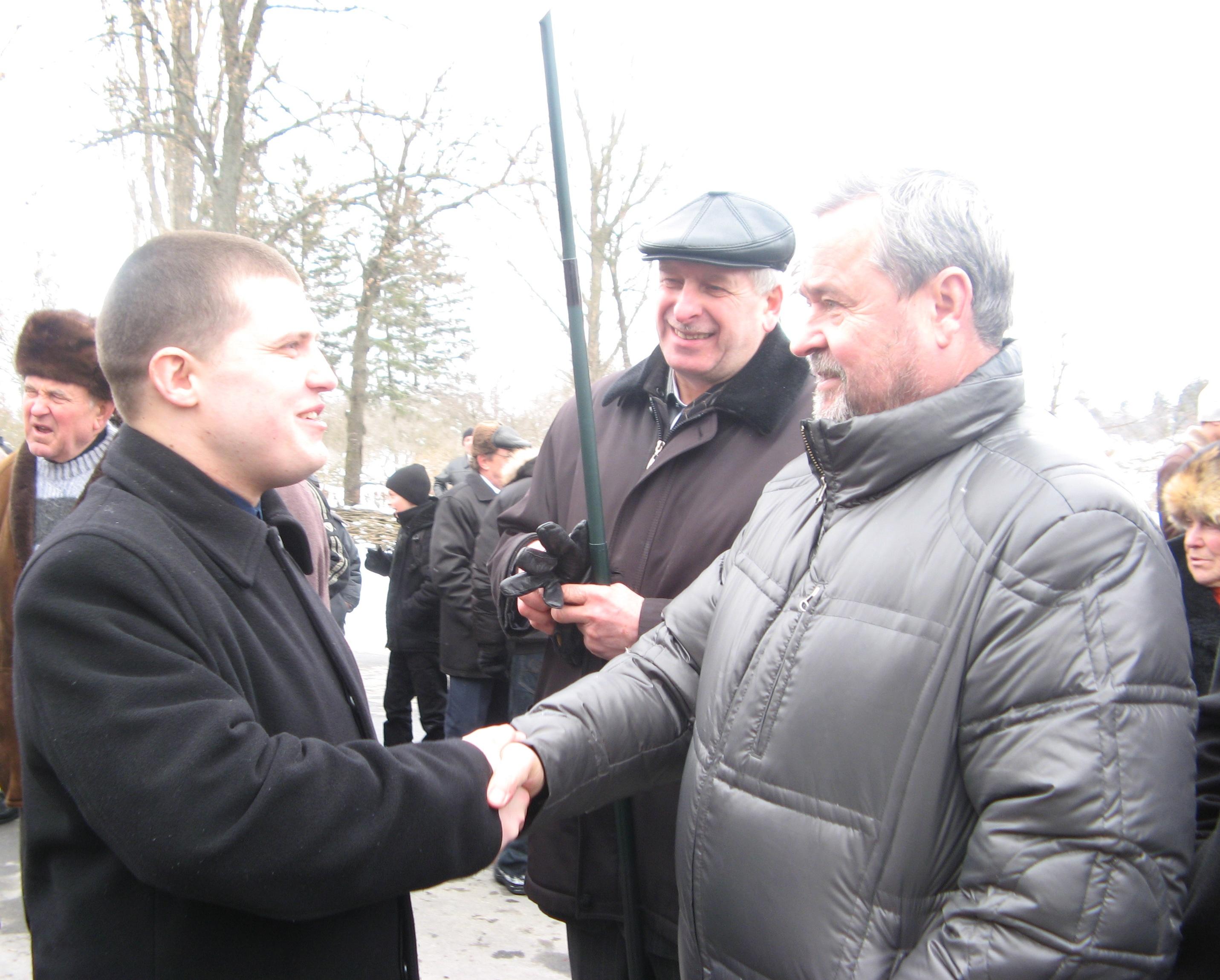 Є. Букет та І. Плющ, 9.03.2010 р.